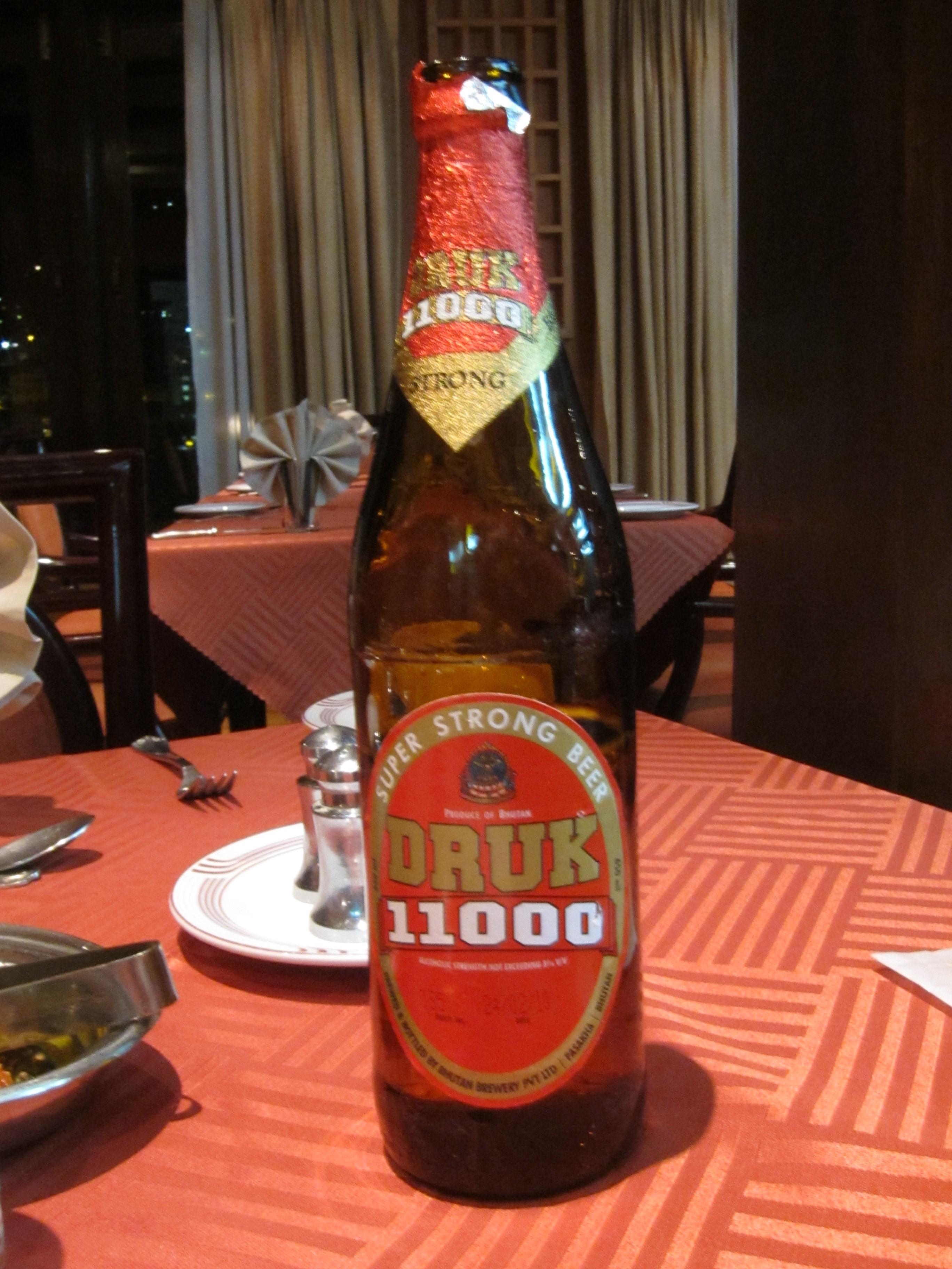 Druk 11000 A Real Himalayan Beer Jls Travel Updates